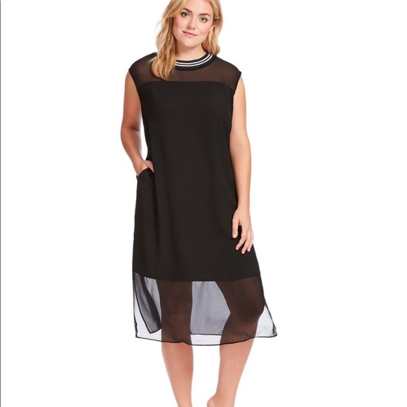 RACHEL Rachel Roy Dresses & Skirts - Rachel Roy Sleeveless Crepe Shift Dress